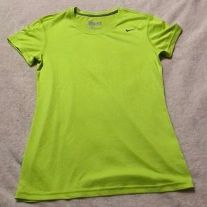 Lime Green Nike Dri Fit